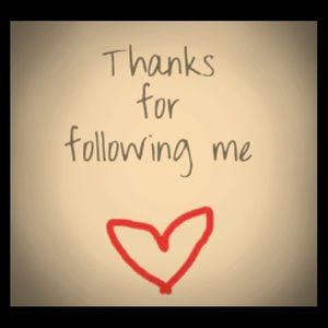 Thanks to all my followers!